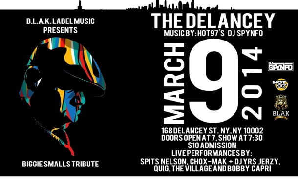 Delancey Flyer March 9th