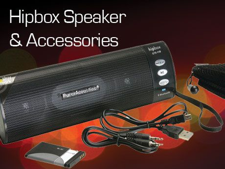 Hipbox Bluetooth SPEAKER WITHAccessories $59.99 | $29.99You Save: $30.00 (50% off)